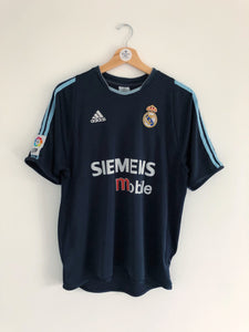 2003/04 Real Madrid Away Shirt (M) 8/10
