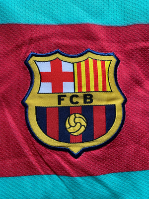 2010/11 Barcelona Away Shirt David Villa #7 (L) 9/10