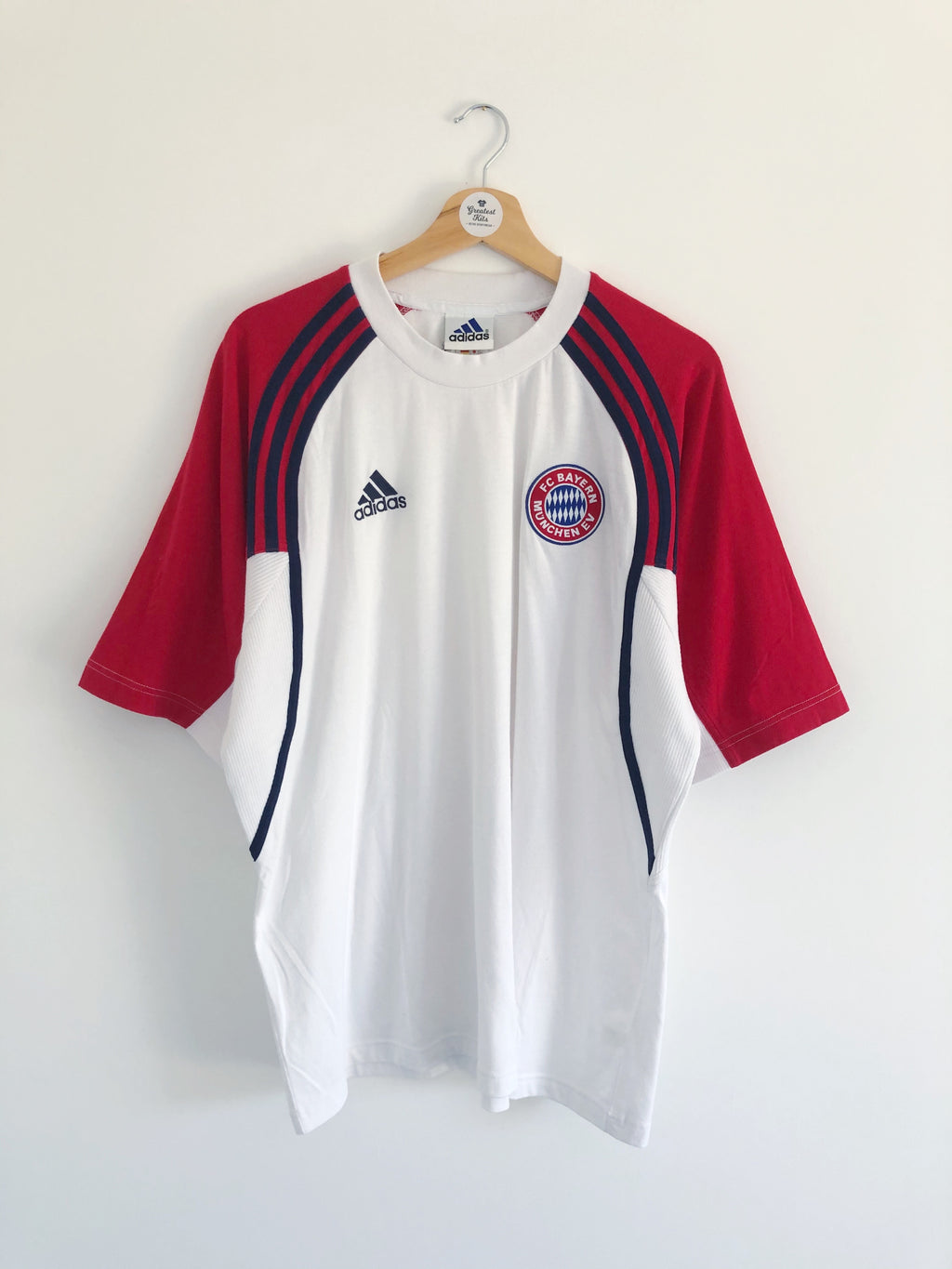 1999/01 Bayern Munich Training Shirt (L) 9/10