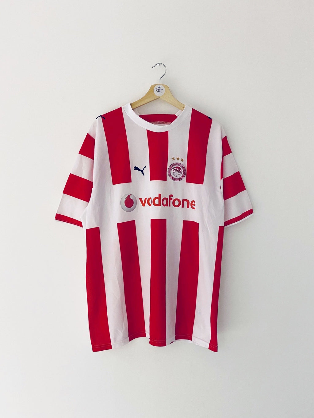 2006/07 Olympiakos Home Shirt (XL) 9/10