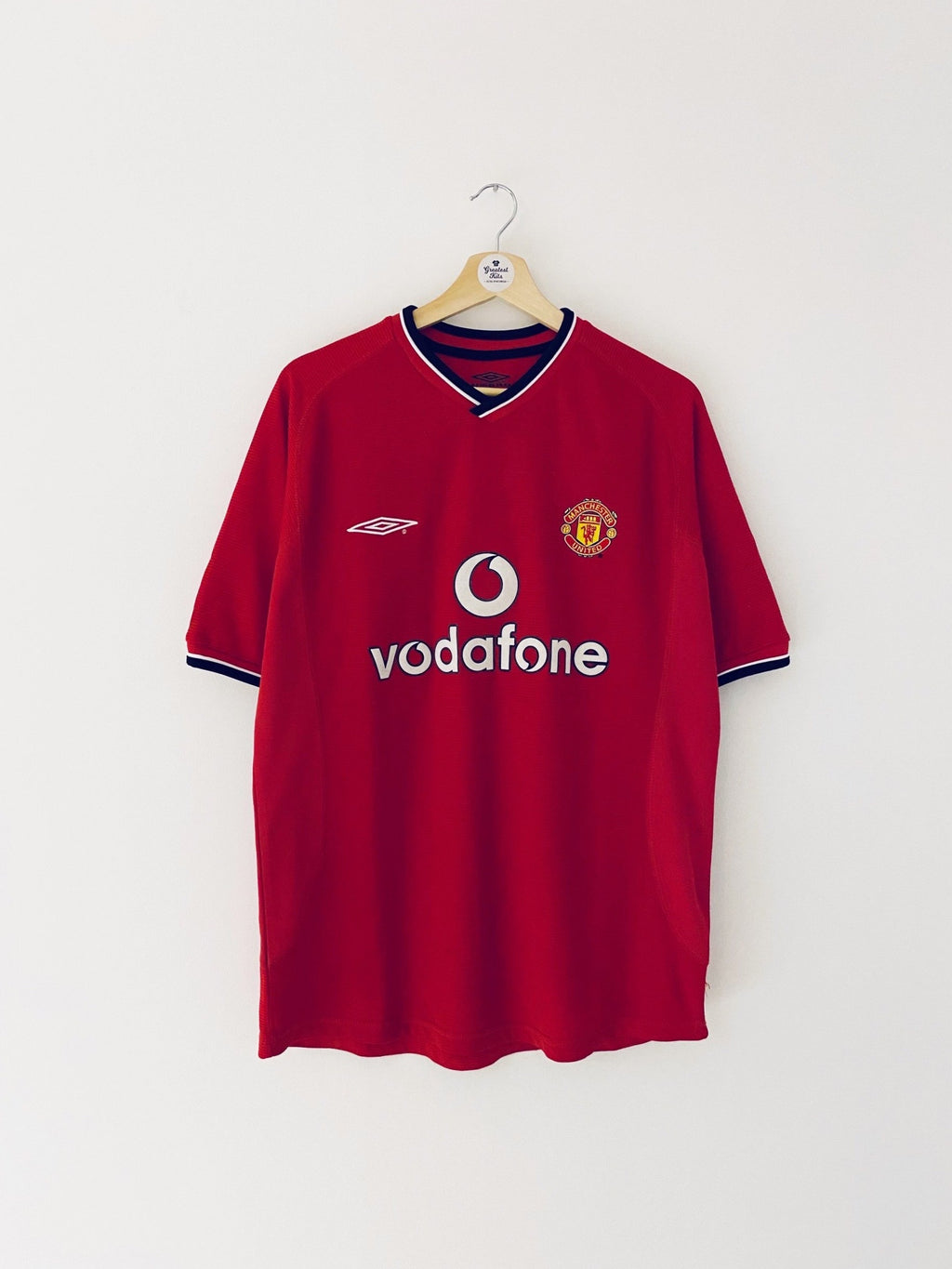 2000/02 Manchester United Home Shirt (M) 7.5/10