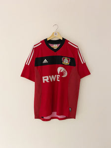 2002/04 Bayer Leverkusen Home shirt (M) 8.5/10
