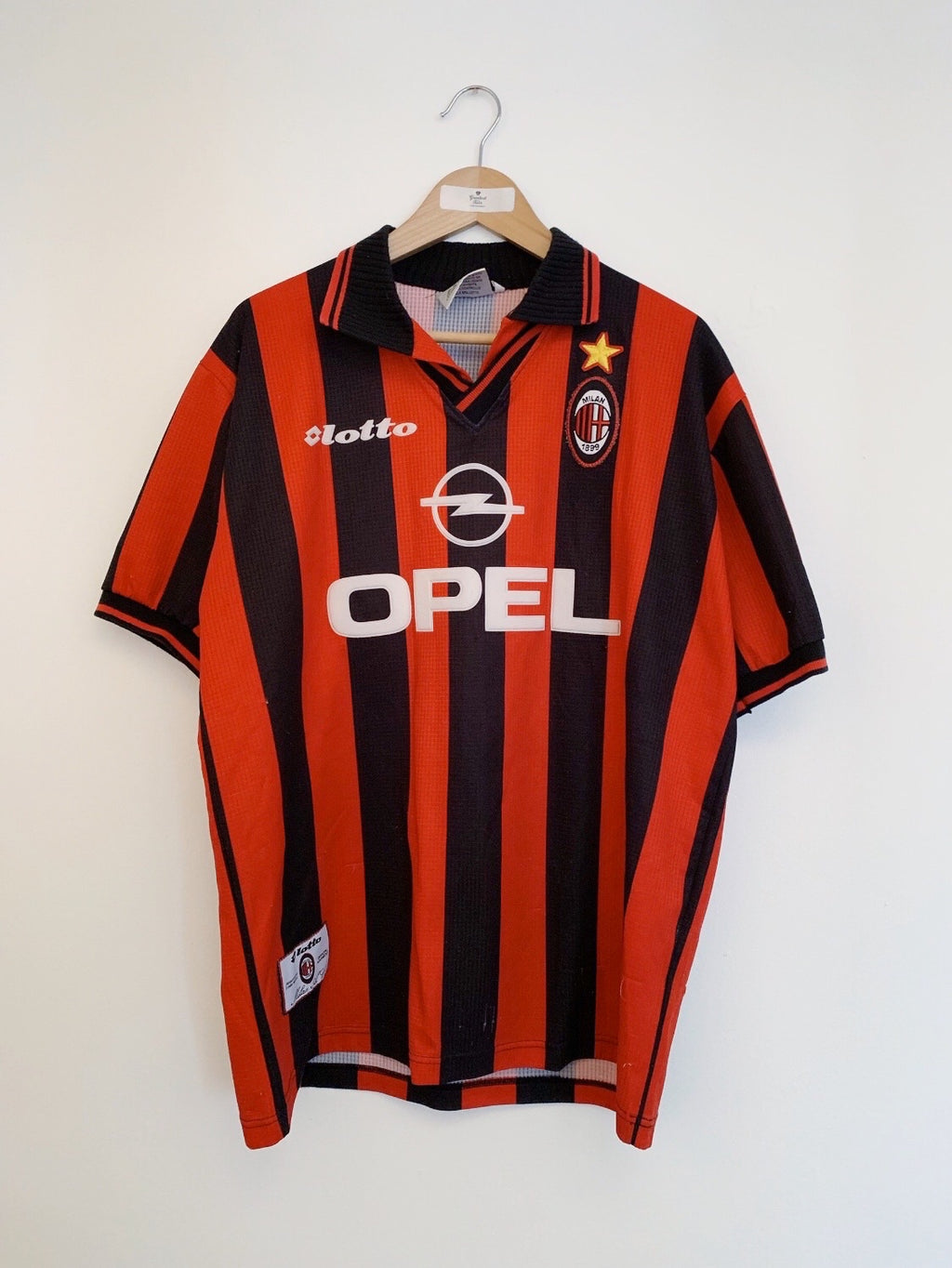 1997/98 AC Milan Home Shirt (XL) 6.5/10