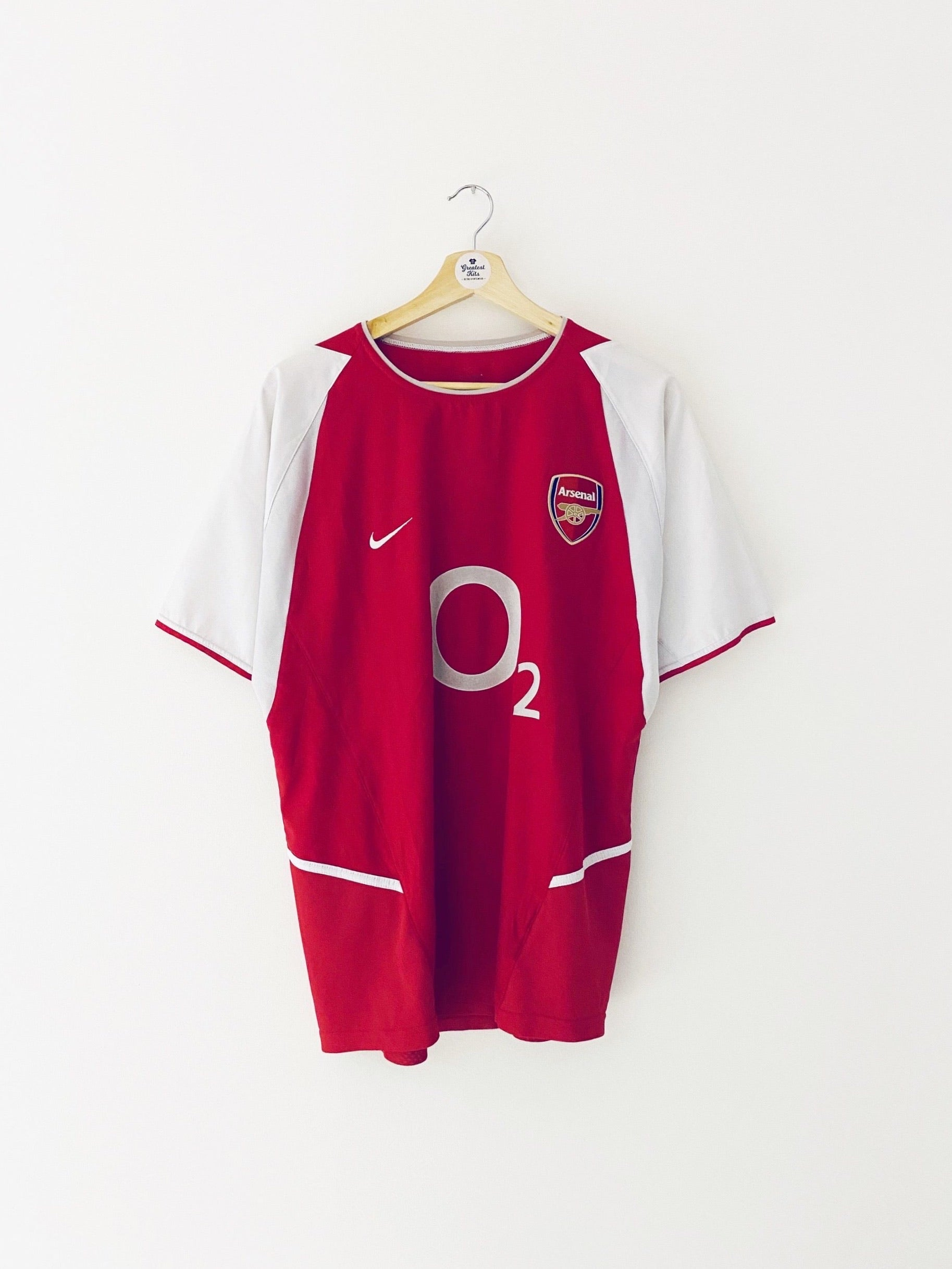2002/04 Arsenal Home Shirt (M) 8.5/10