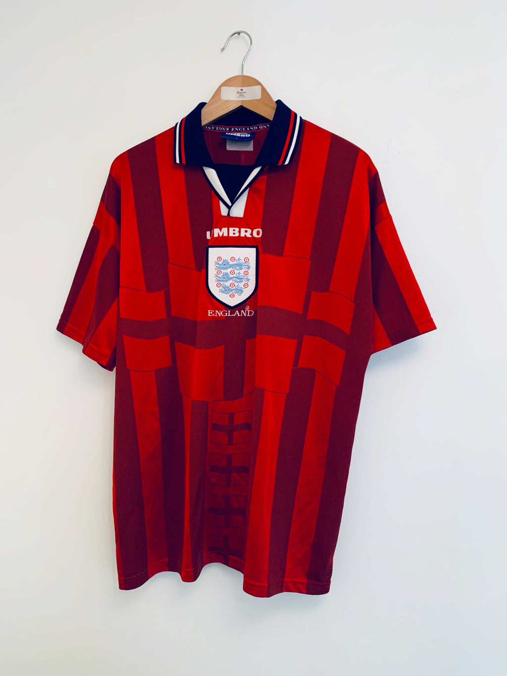 1997/99 England Away Shirt (L) 7.5/10