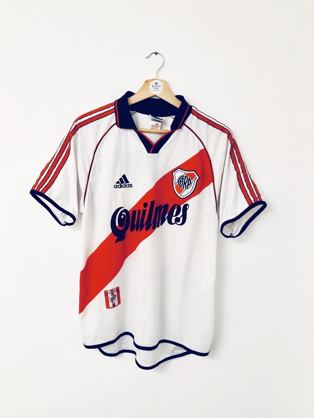 2000/02 River Plate Home Shirt (S) 8/10