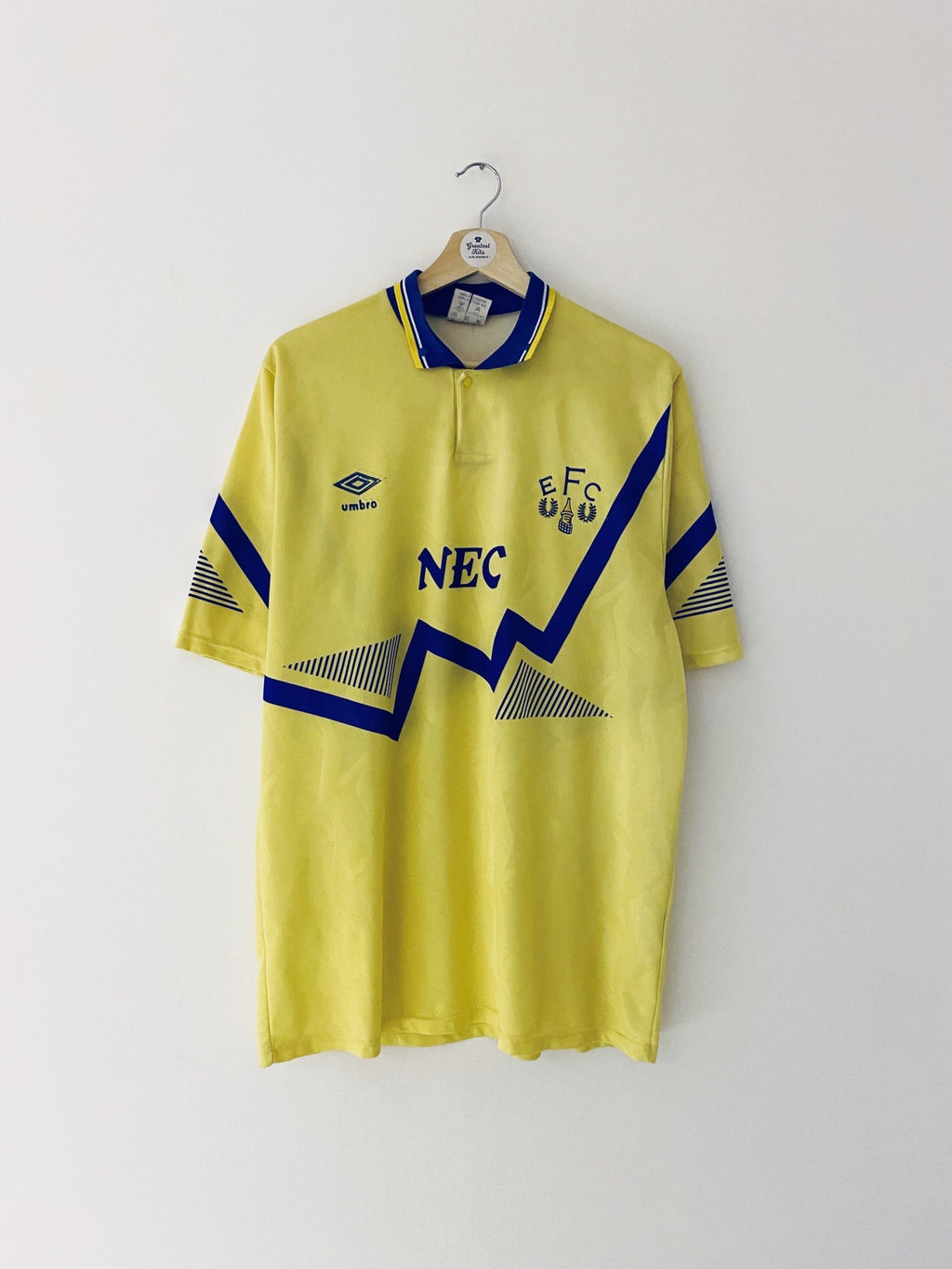 1990/92 Everton Away Shirt (L) 7.5/10