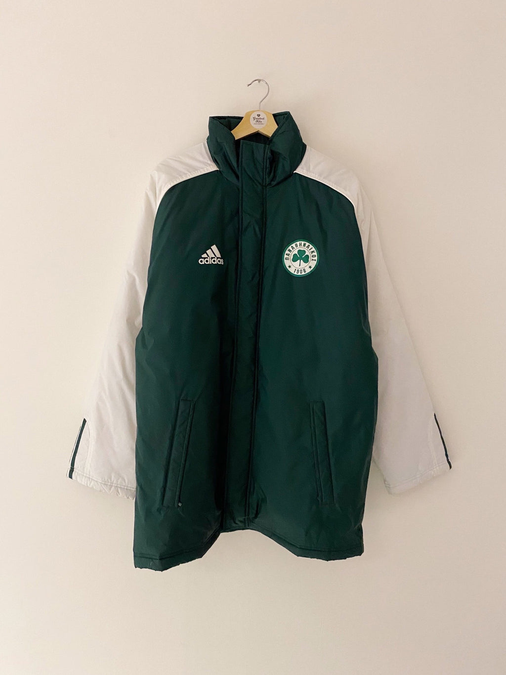 2004/05 Panathinaikos Bench Coat (M/L) 8/10