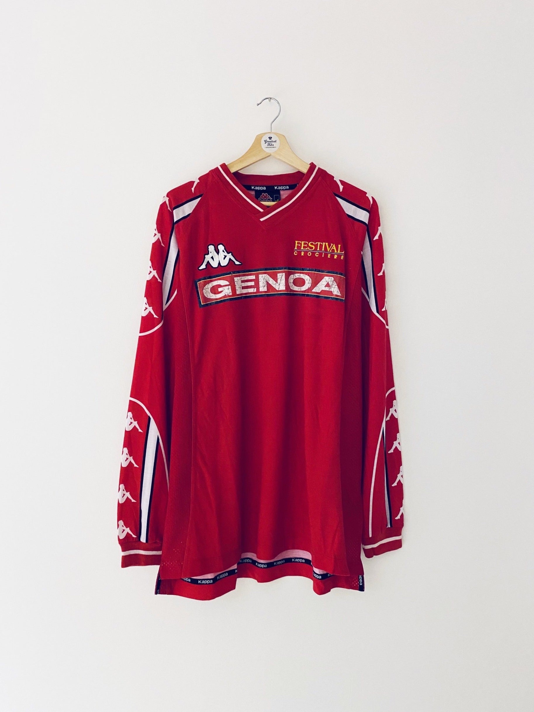 2000/01 Genoa Training L/S Shirt (XL) 6/10