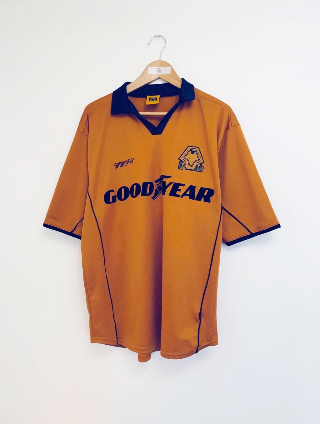 2000/02 Wolves Home Shirt (L) 7/10