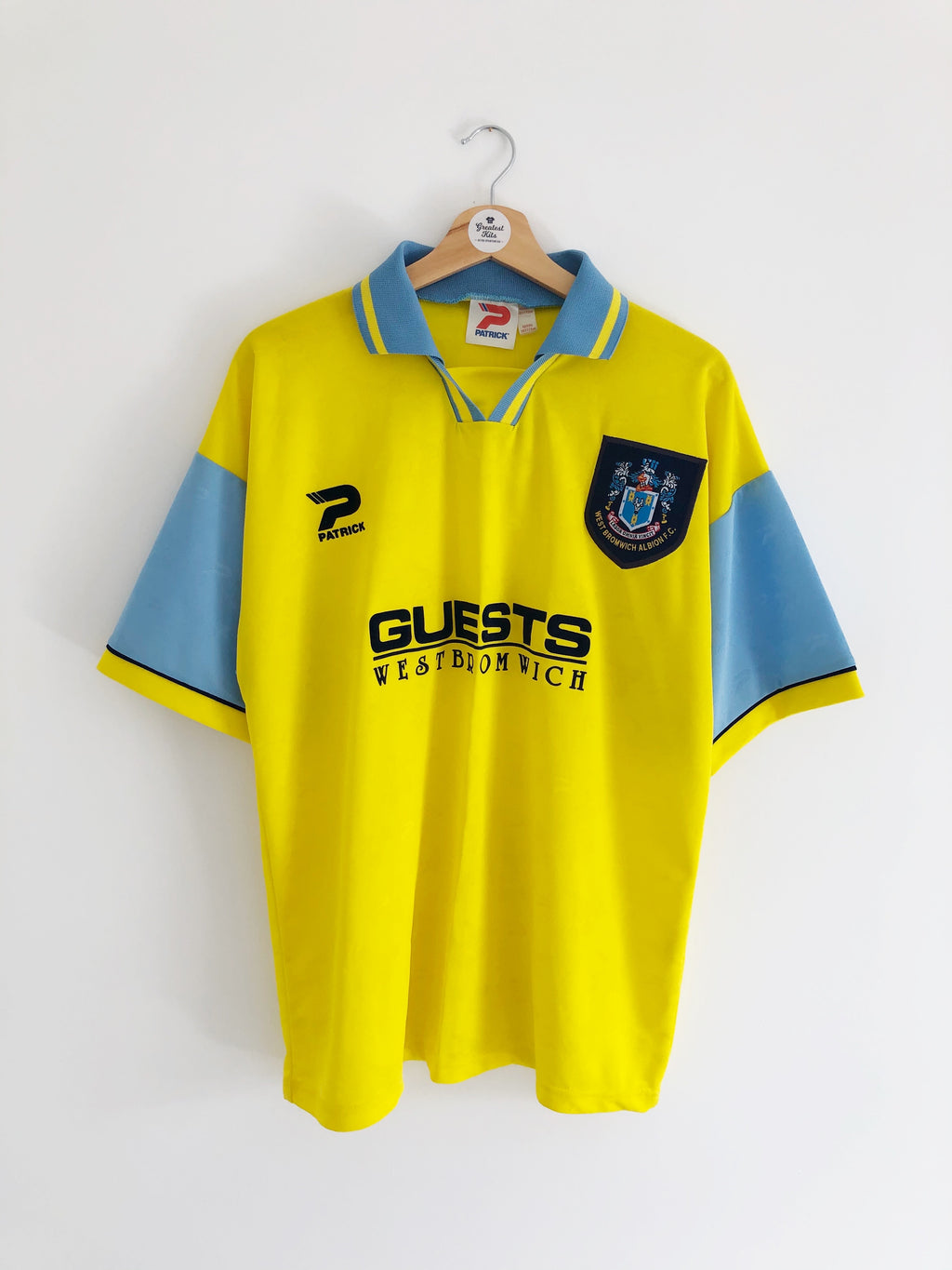 1995/97 West Brom Away Shirt (L) 9/10