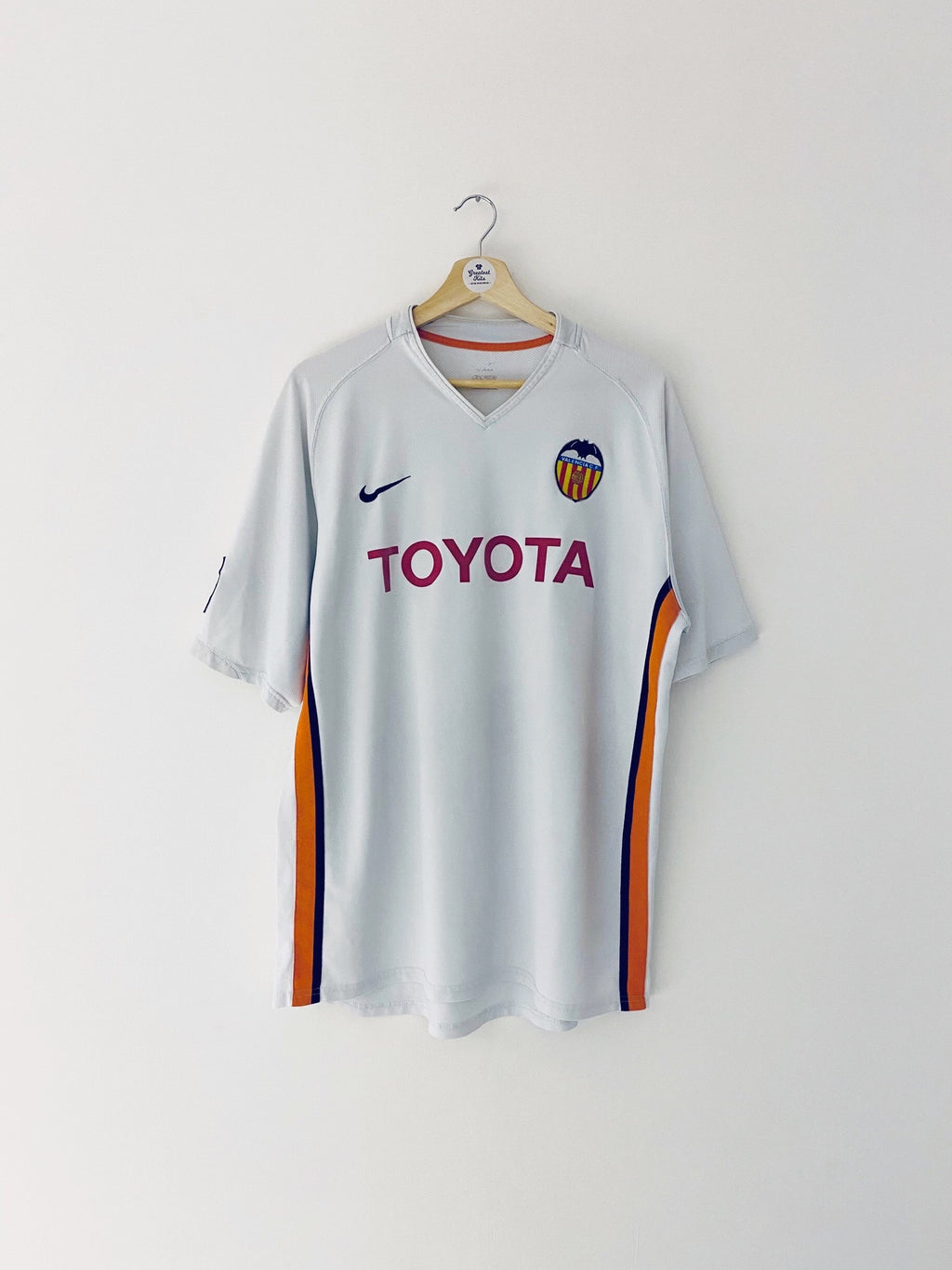 2006/07 Valencia Home Shirt (XL) 6.5/10