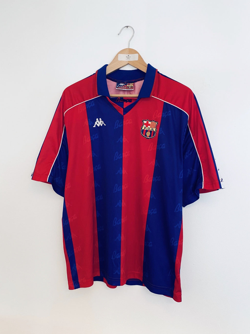 1992/95 Barcelona Home Shirt (XL) 9/10