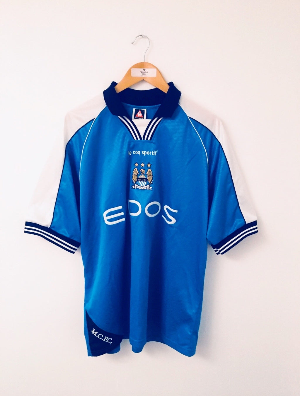 1999/01 Manchester City Home Shirt (L) 9/10