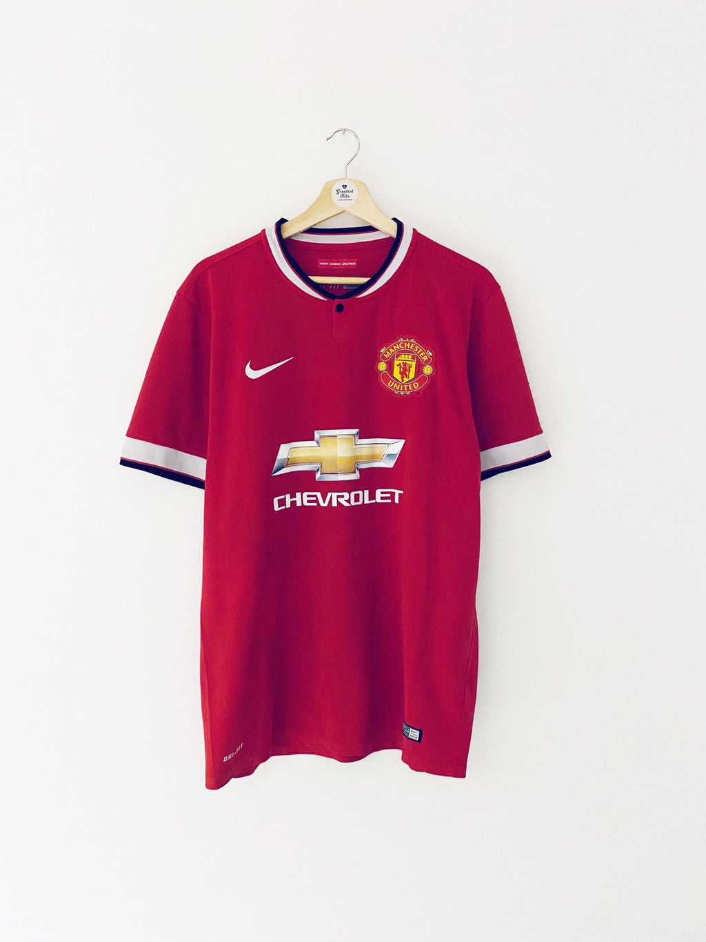 2014/15 Manchester United Home Shirt (L) 9/10