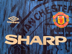 1992/93 Manchester United Away Shirt (S) 8.5/10