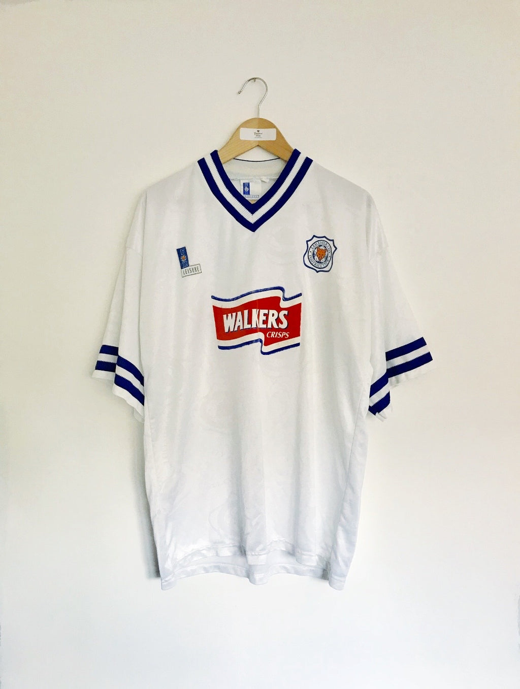 1996/98 Leicester Away Shirt #15 (XL) 8.5/10