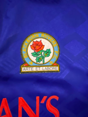 1992/94 Blackburn Home Shirt (XL) 8/10