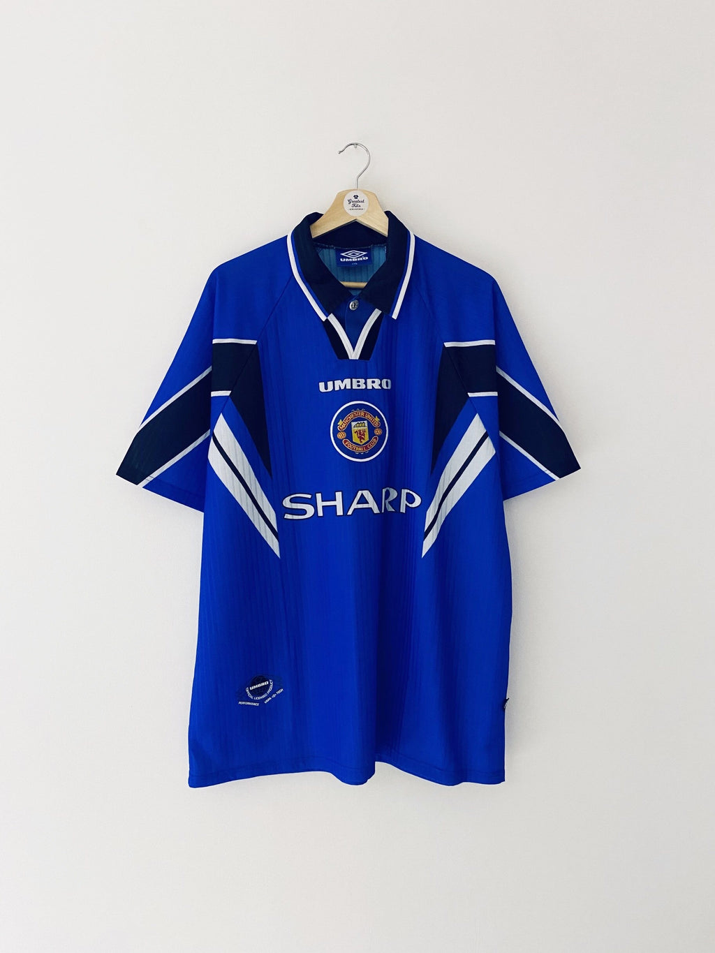 1996/98 Manchester United Third Shirt (XXL) 9/10