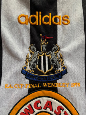 1998 Newcastle Home Shirt 'FA Cup Final' (S) 9/10