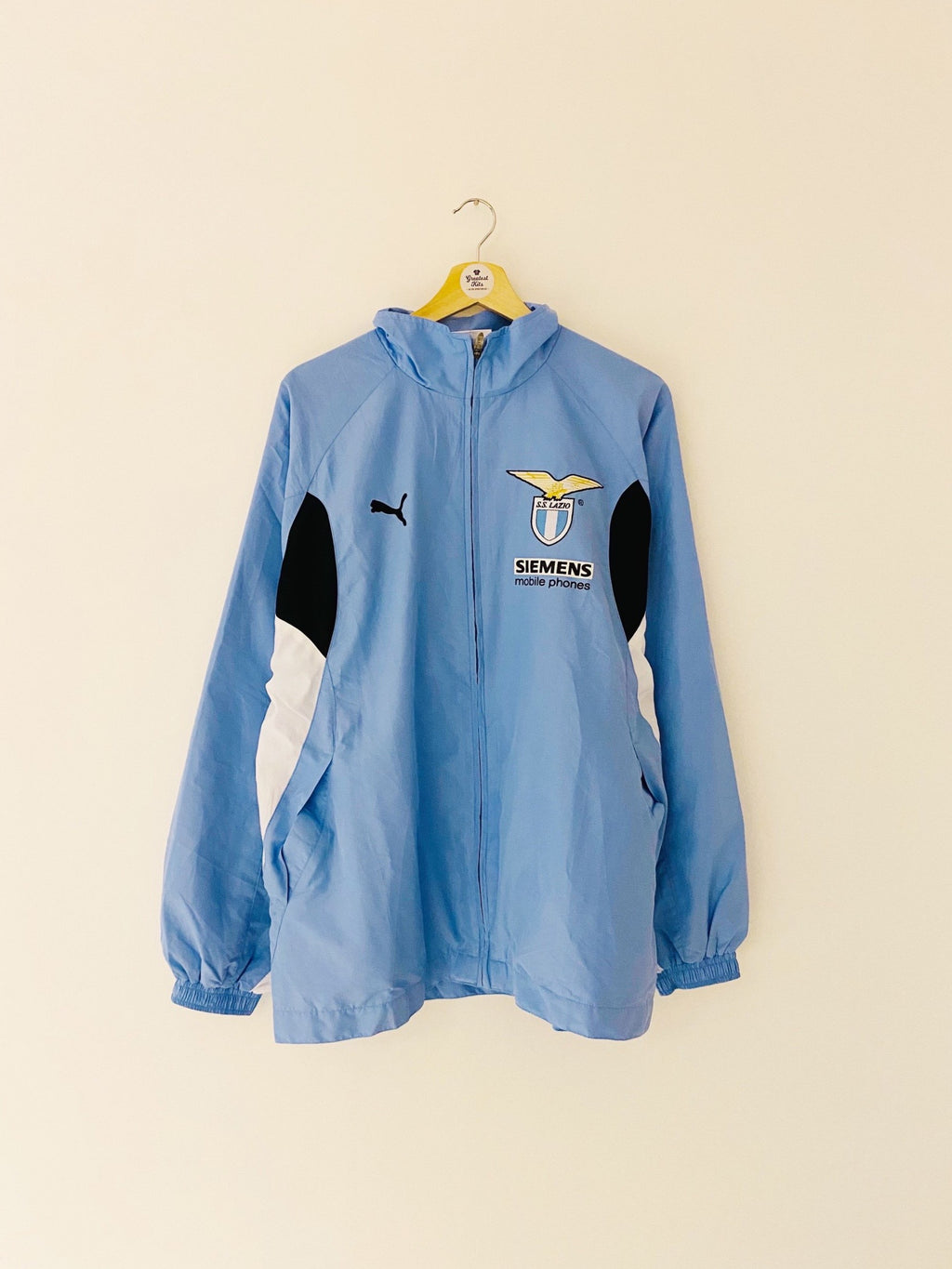 2001/02 Lazio Training Jacket (M) 9/10