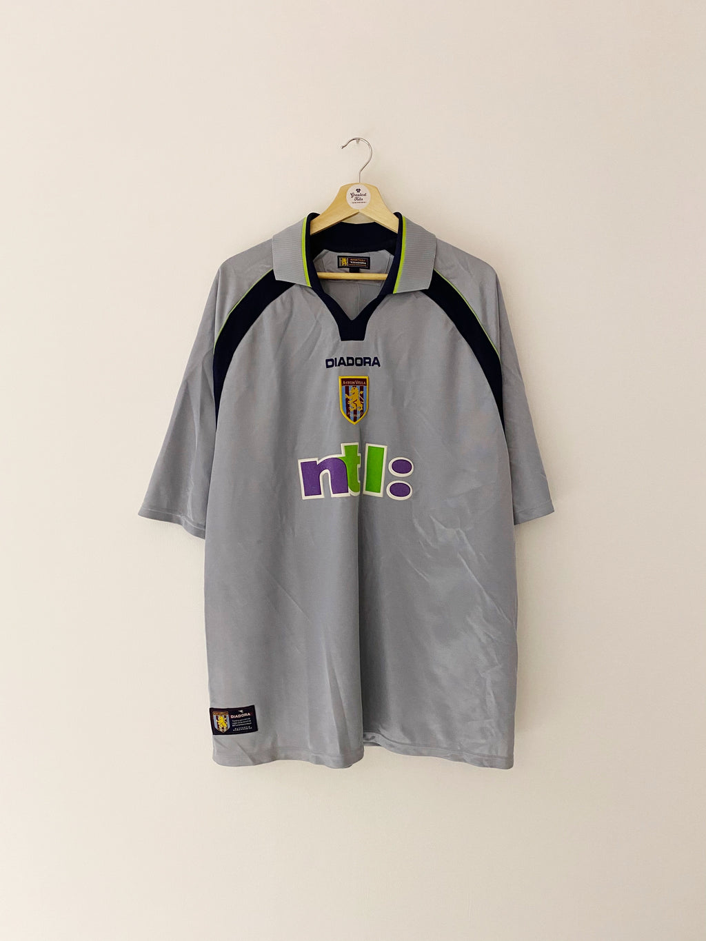 2001/02 Aston Villa Away Shirt (XL) 8.5/10