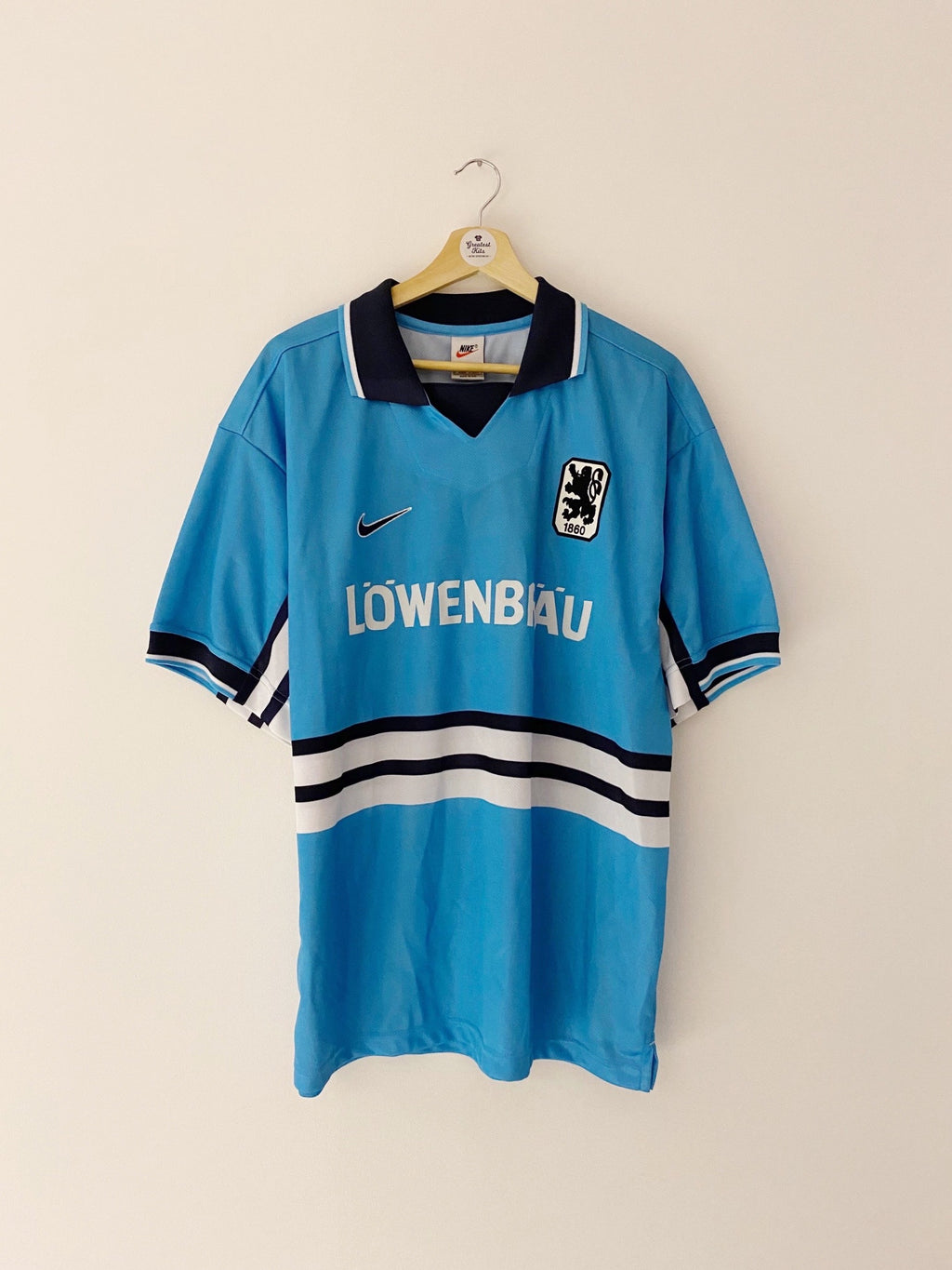 1997/98 1860 Munich *Player Issue* Home Shirt (XL) 9.5/10