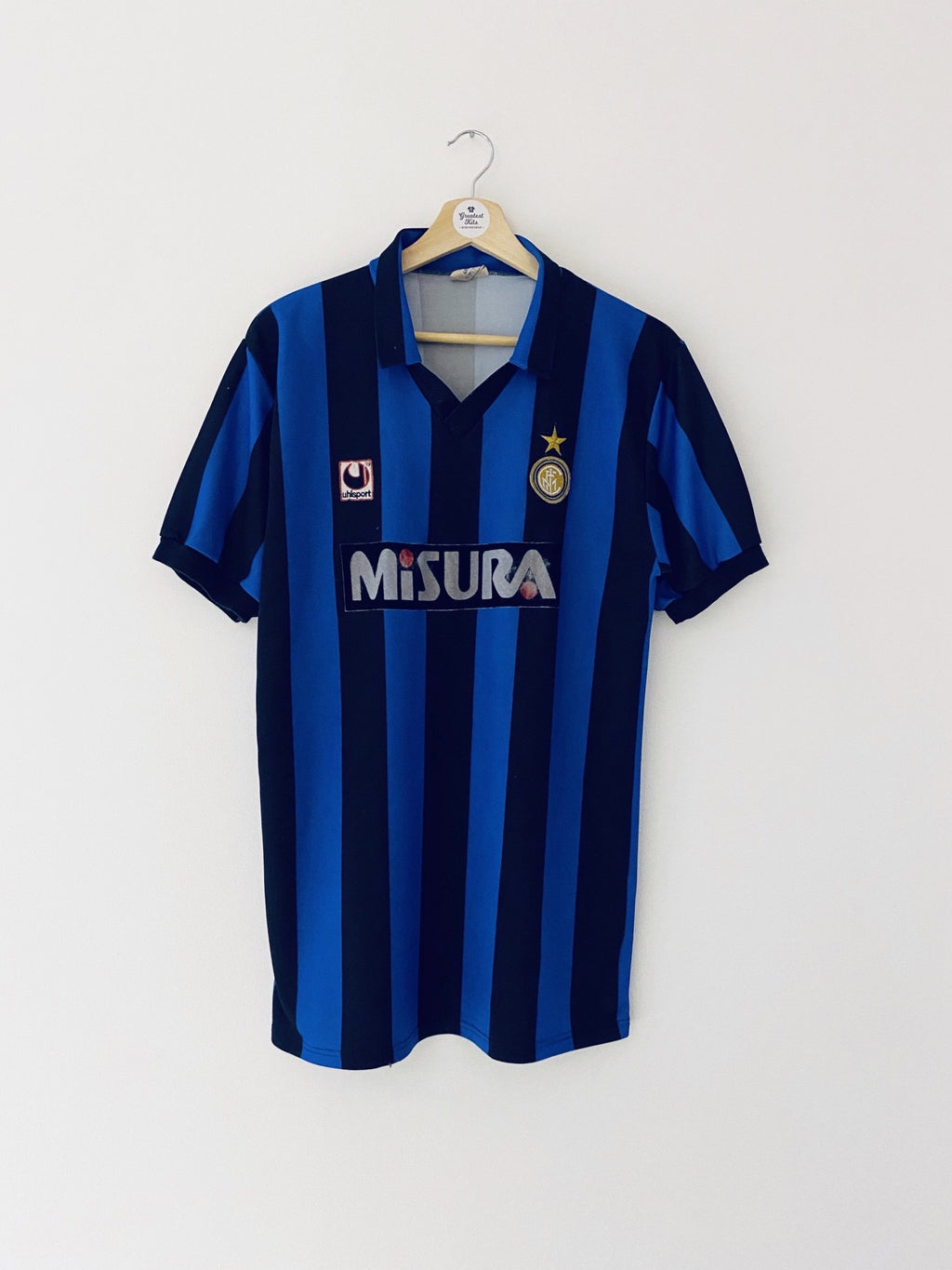 1990/91 Inter Milan Home Shirt (L) 7/10