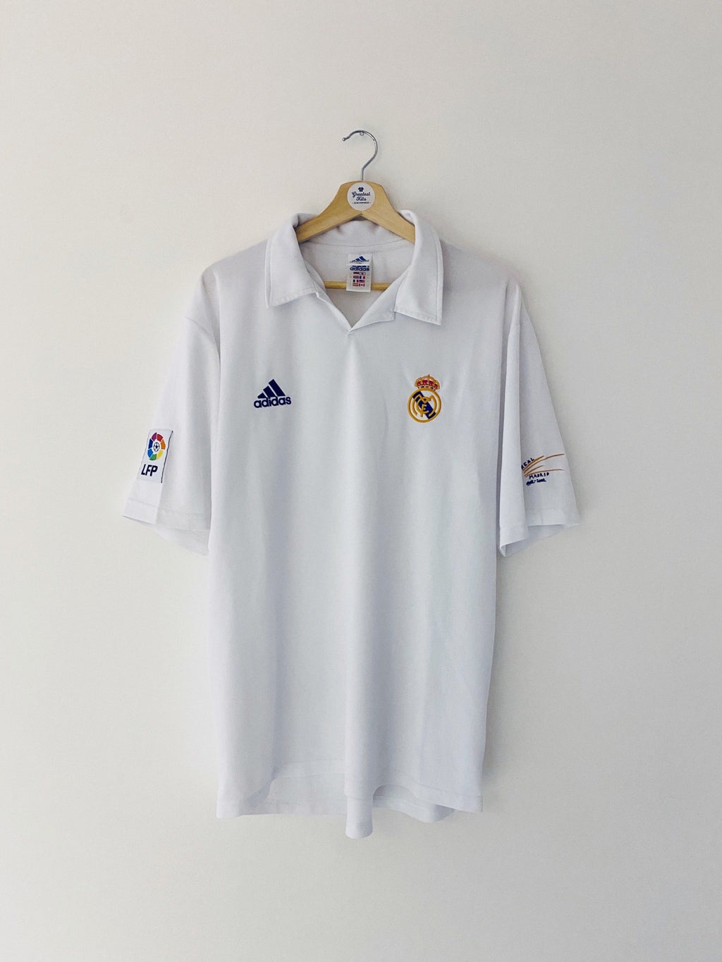 2001/02 Real Madrid Home Centenary Shirt (L) 9/10