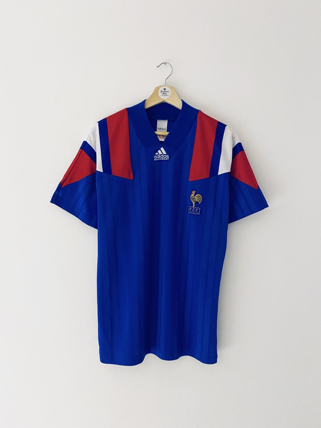 1992/94 France Home Shirt (S/M) 9/10