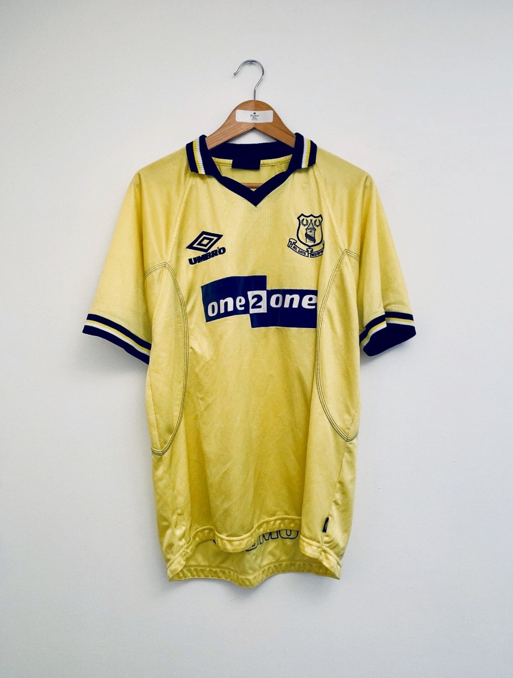 1998/99 Everton Third Shirt (L) 8.5/10