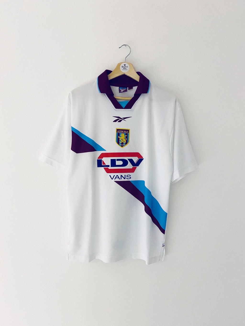 1999/00 Aston Villa Away Shirt (S) 9/10