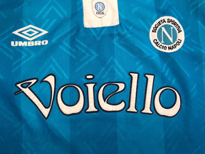 1993/94 Napoli Home Shirt (S) 9/10