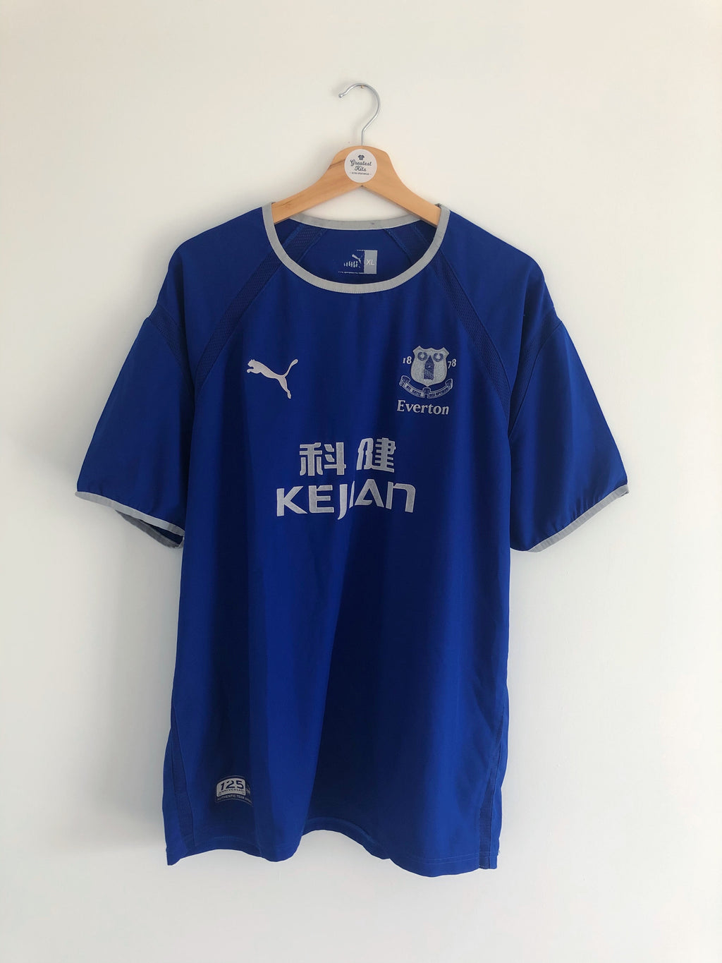 2003/04 Everton Home Shirt (XL) 8/10