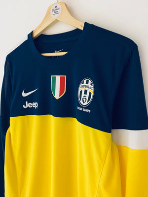 2012/13 Juventus Training L/S Shirt (L) 9/10