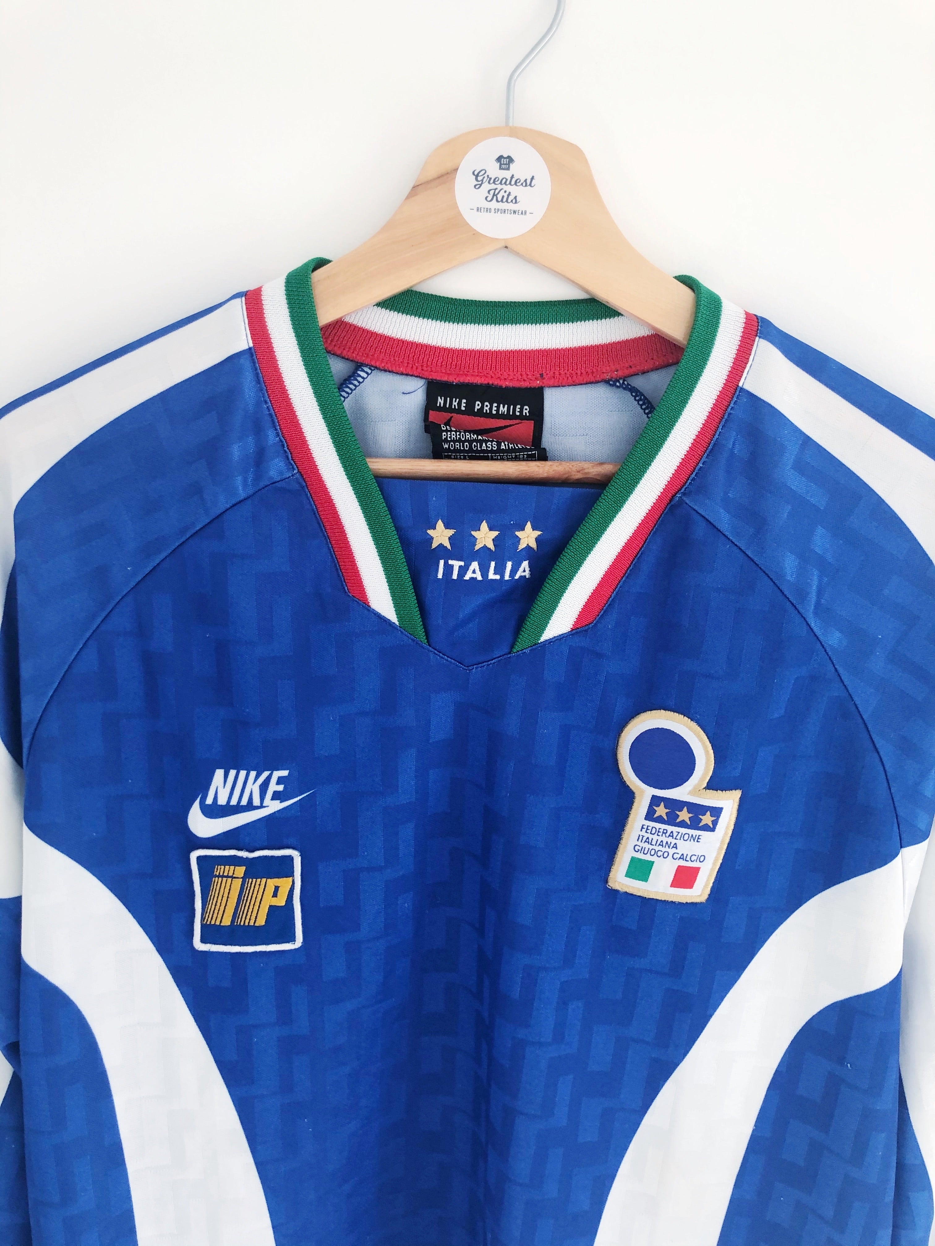1996/97 Italy *Player Issue* Training L/S Shirt (L)