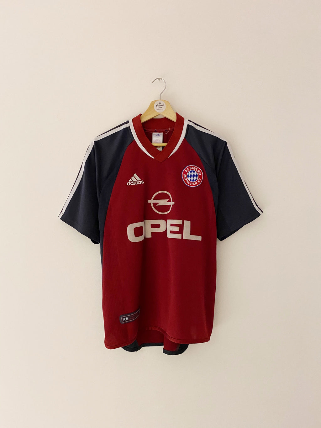2001/02 Bayern Munich Home Shirt (S) 7.5/10