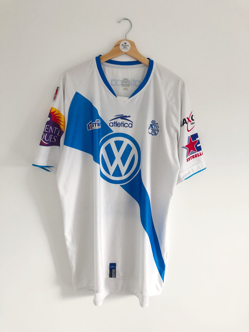 2007/08 Puebla Home Shirt (XXL) 8/10