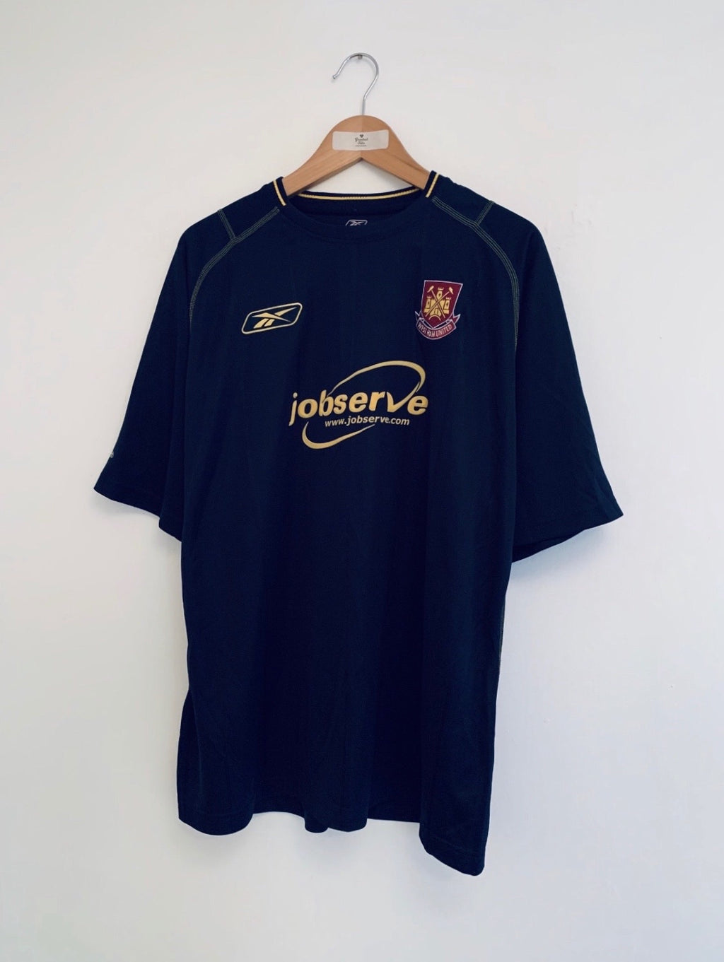 2003/04 West Ham Away Shirt (L) 9/10