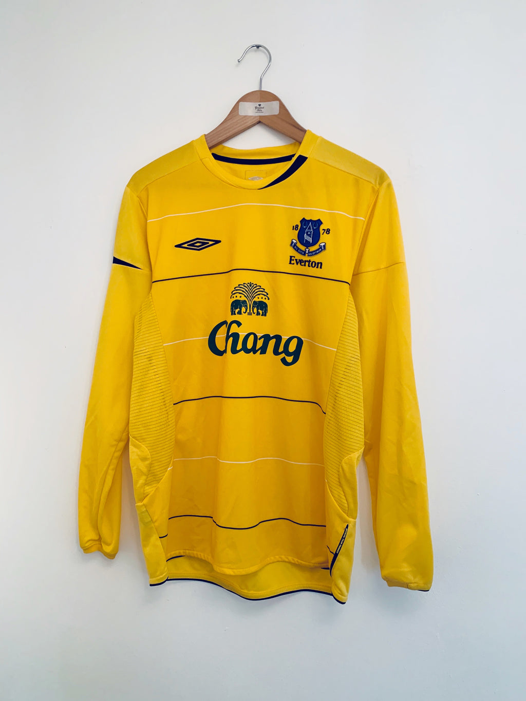 2005/06 Everton Third L/S Shirt (M) 9/10