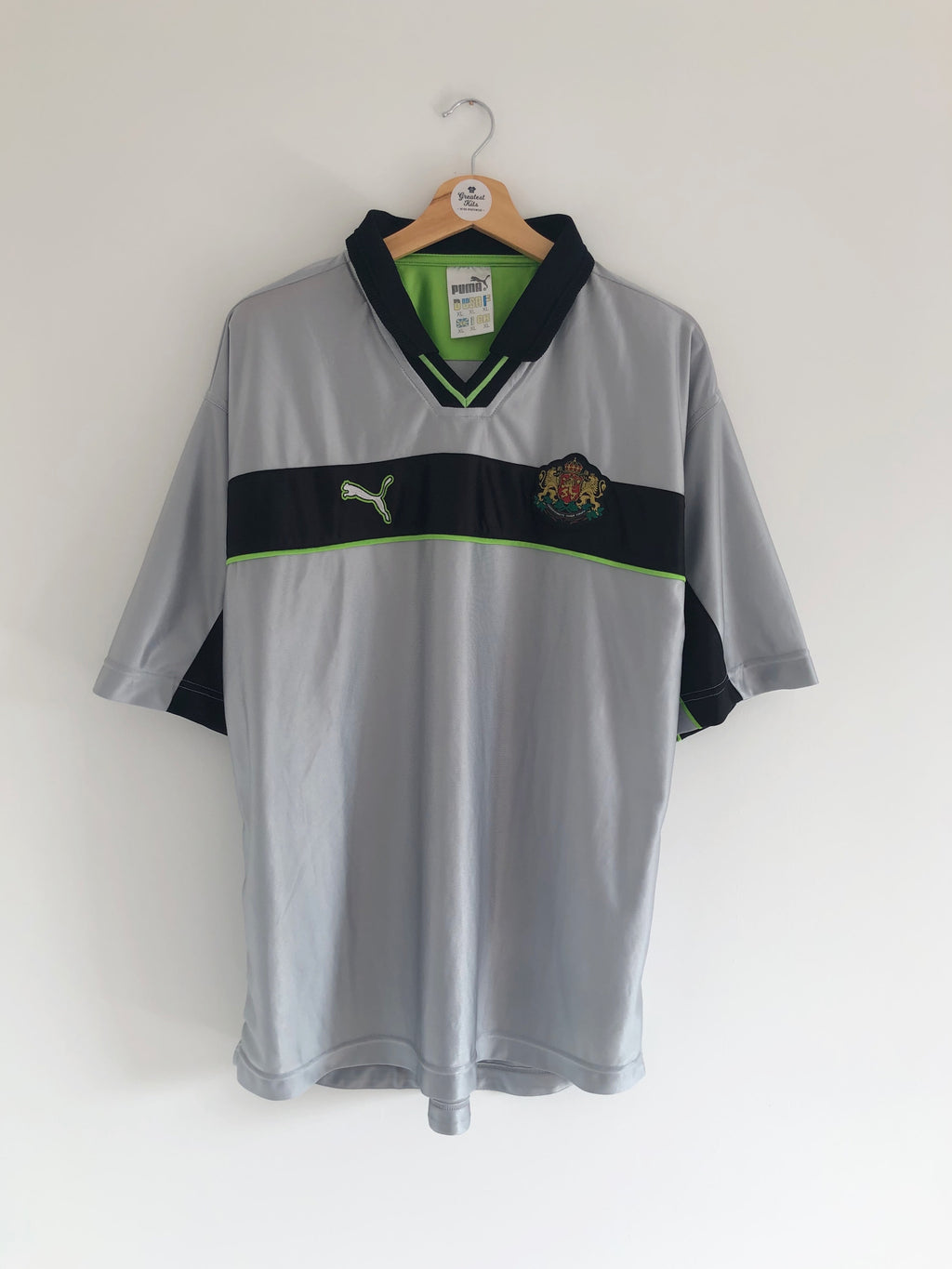 1998/00 Bulgaria GK S/S Shirt (XL) 8/10