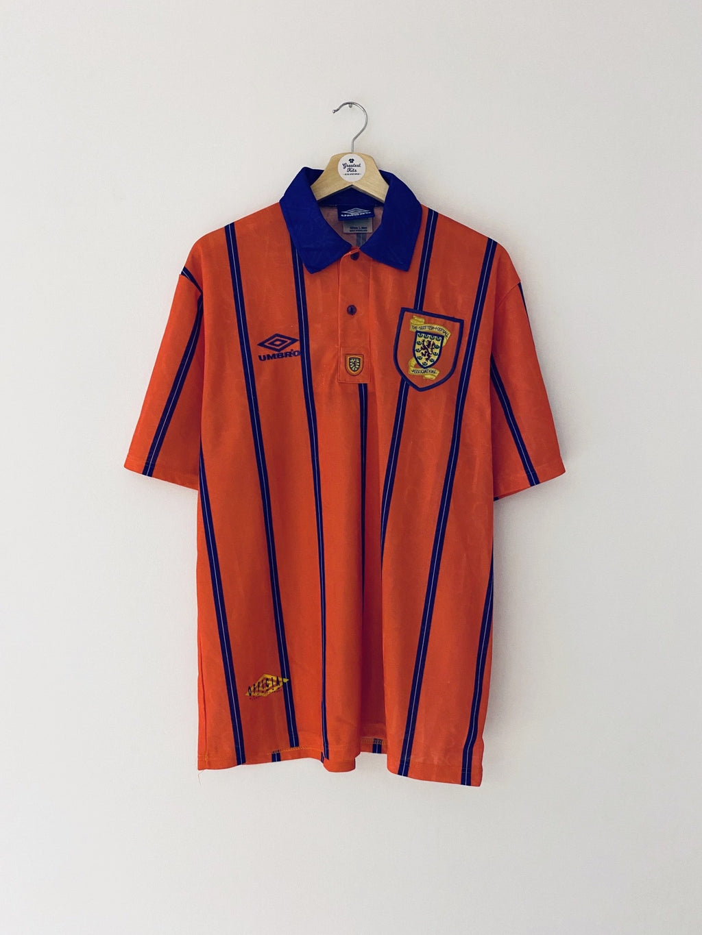 1993/95 Scotland Away Shirt (L) 9/10