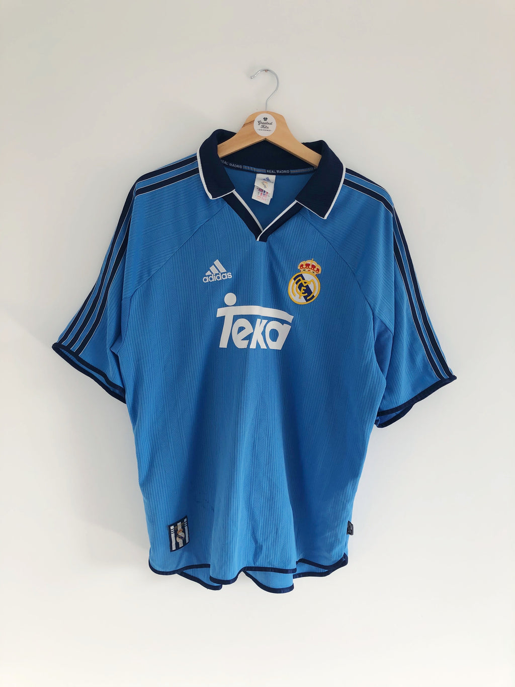 1999/00 Real Madrid Third Shirt (L) 6.5/10