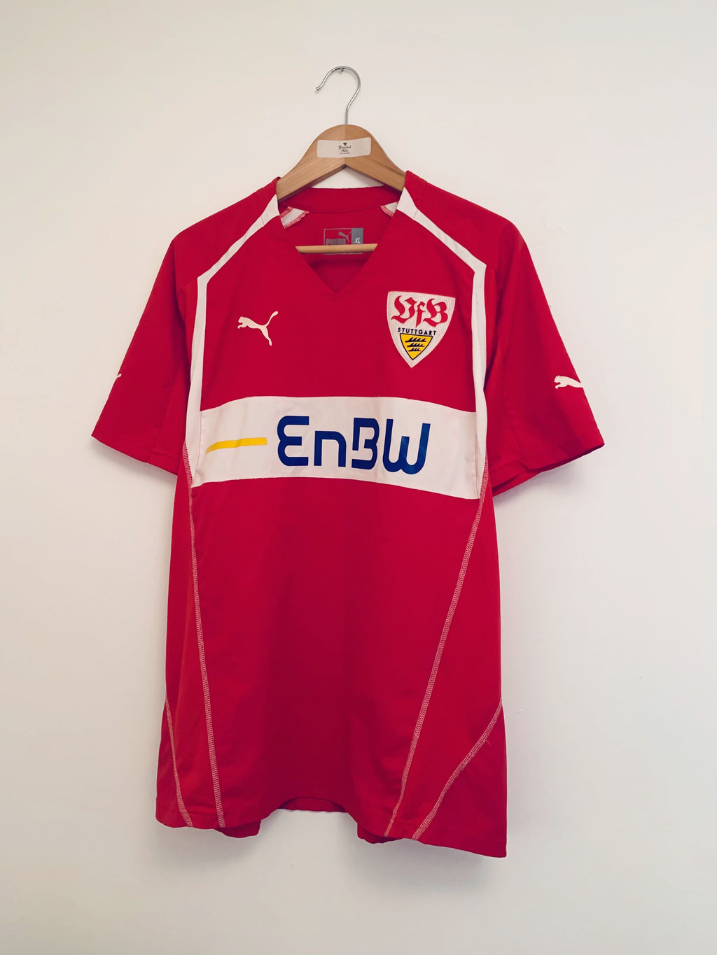 2005/06 Stuttgart Away Shirt #3 (Stranzl) (XL) 9/10