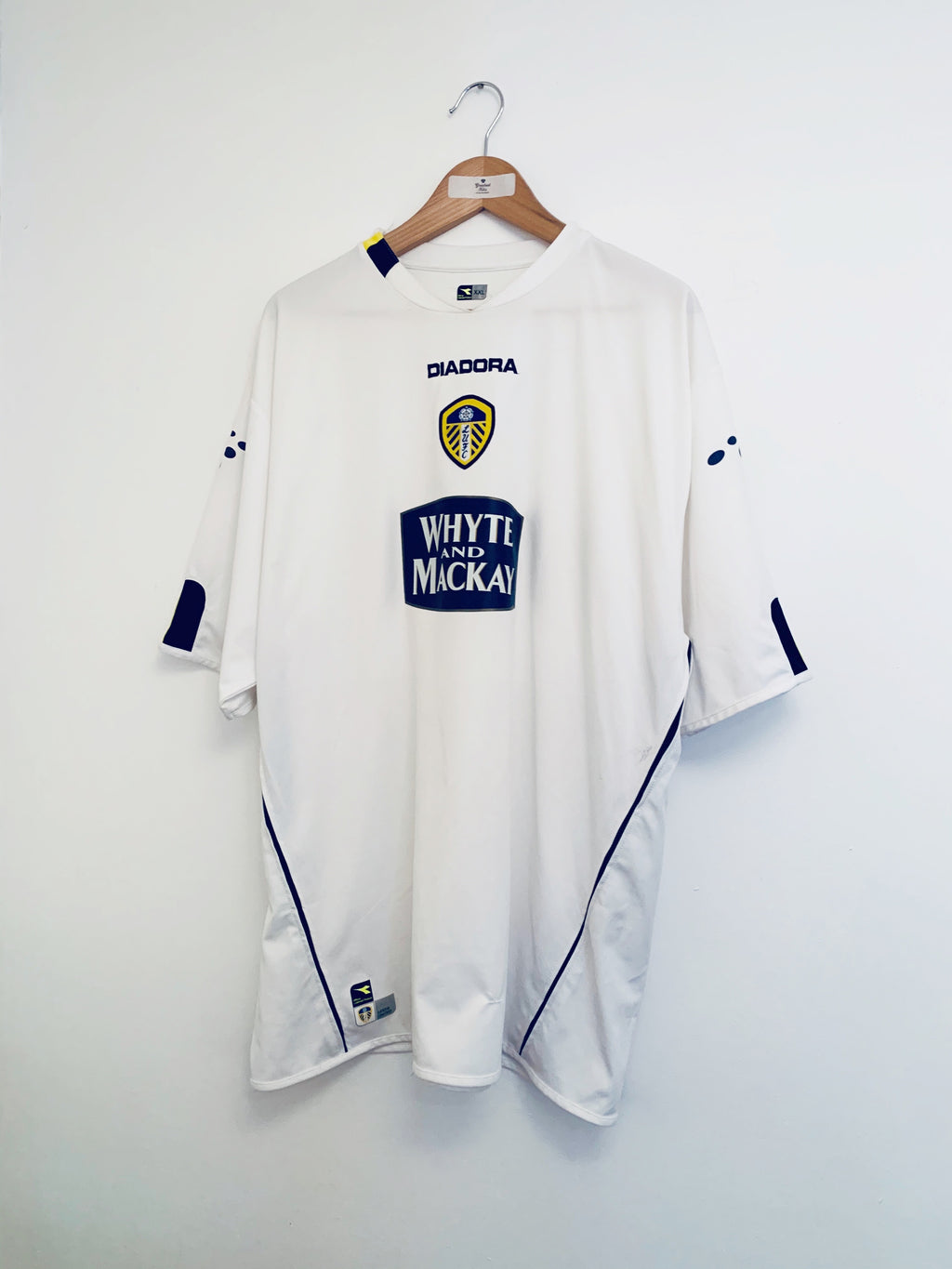 2004/05 Leeds United Home Shirt (XXL) 7/10