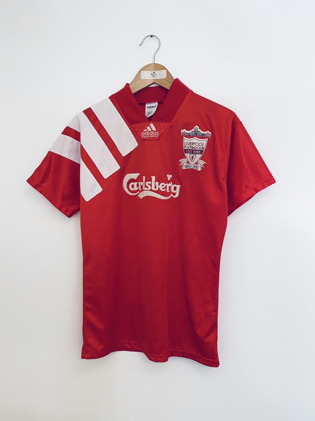 1992/93 Liverpool Home Centenary Shirt (S) 8/10