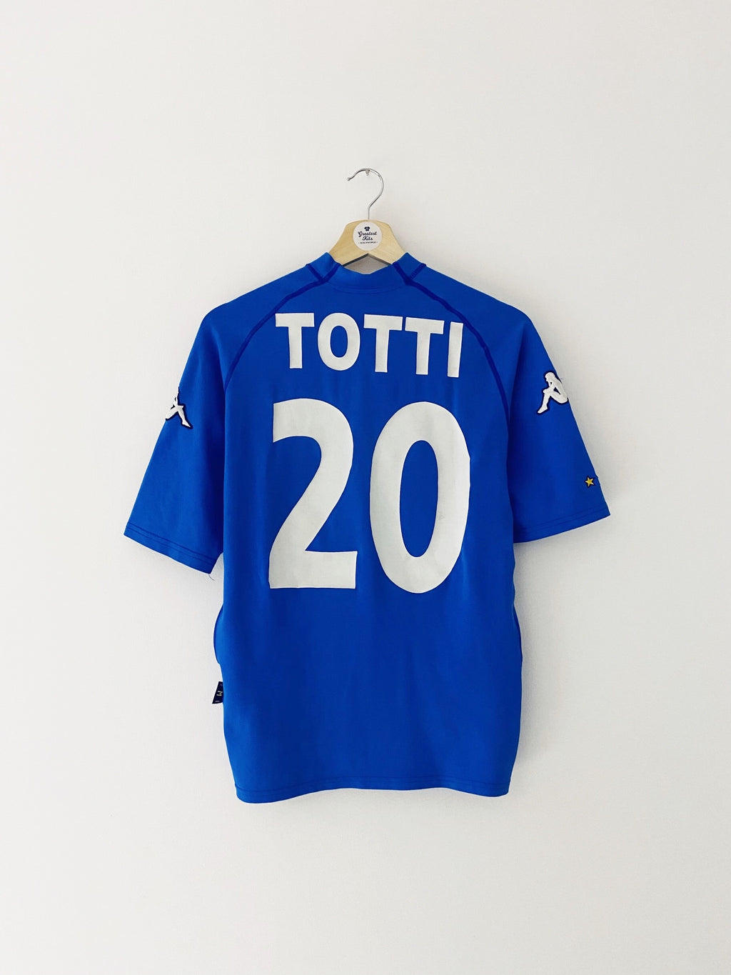 2000/01 Italy Home Shirt Totti #20 (M) 8.5/10