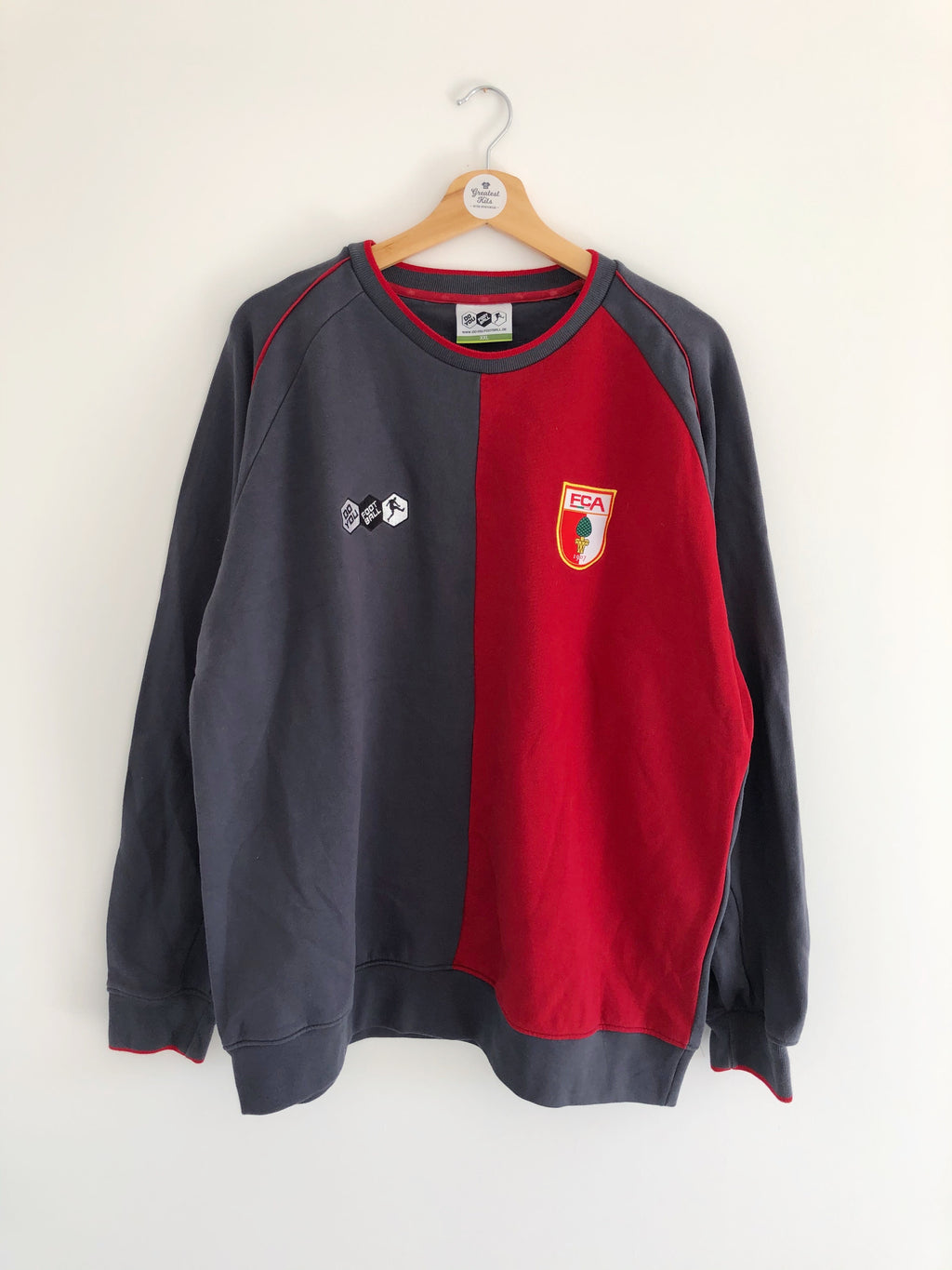 2009/10 FC Augsburg Training Jumper (XXL) 8/10