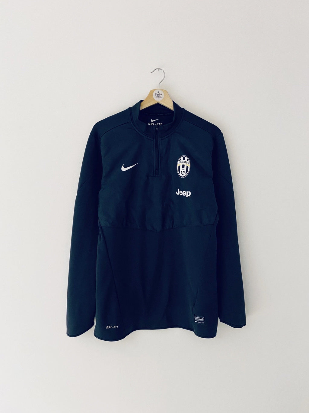 2013/14 Juventus 1/4 Zip Training Top (M) 9/10
