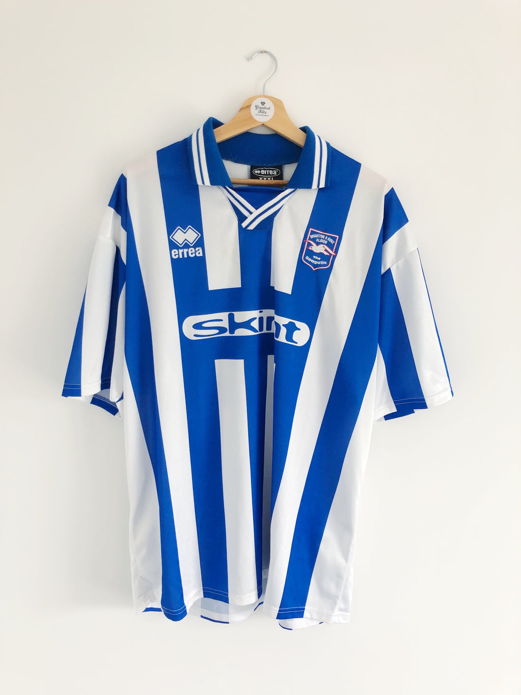 1999/00 Brighton Home Shirt #16 (3XL) 9/10